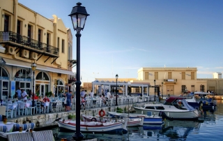 Rethymno-old-harbord