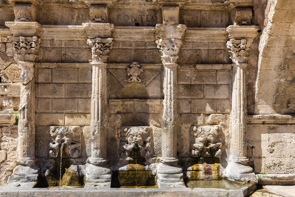 Rimondi Fountain in Rethymnon